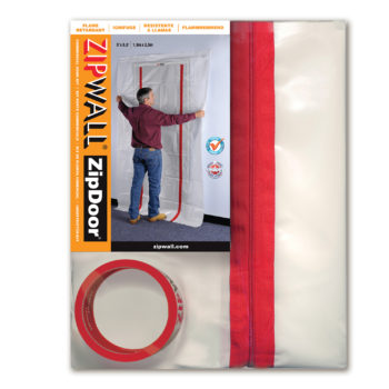 ZipWall ZipDoor Commercial Door Kit product commercial