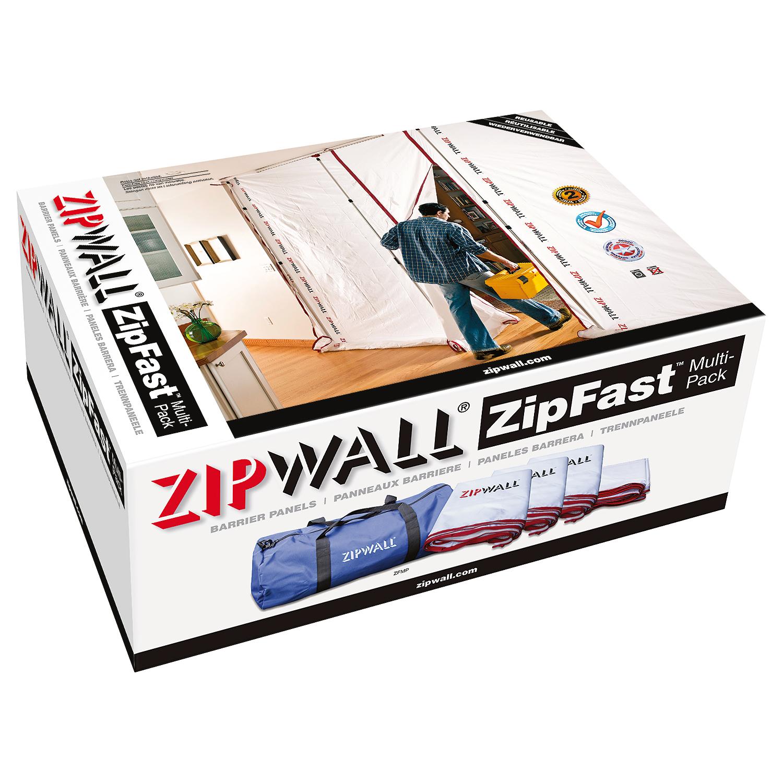 Zipfast Multi Pack Zipwall Dust Barrier System