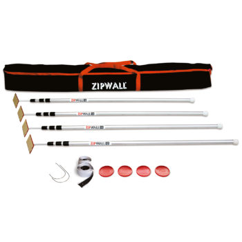 ZipWall 12 4-Pack Dust Barrier Poles product commercial and residential