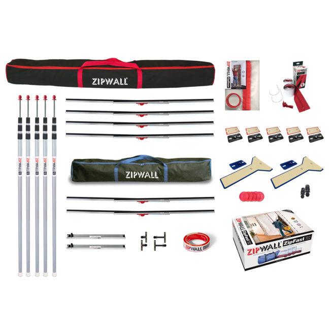 ZipWall Dust Barrier Toolkit product commercial and residential
