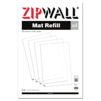ZipWall Mat Refill product commercial and residential